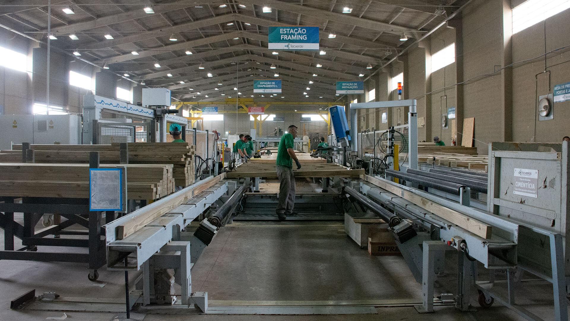 Fabrica de construção industrializada da tecverde